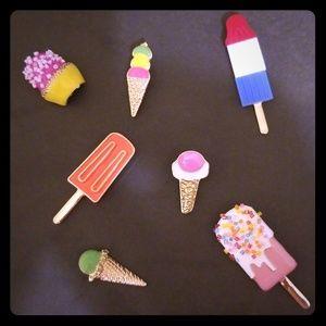 Popsicle pin set
